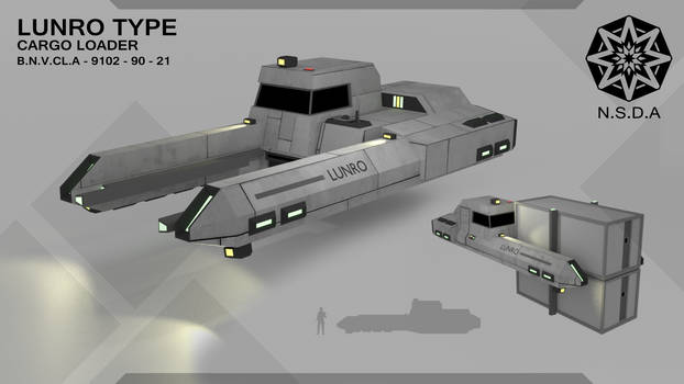 Lunro Type Space Cargo Loader