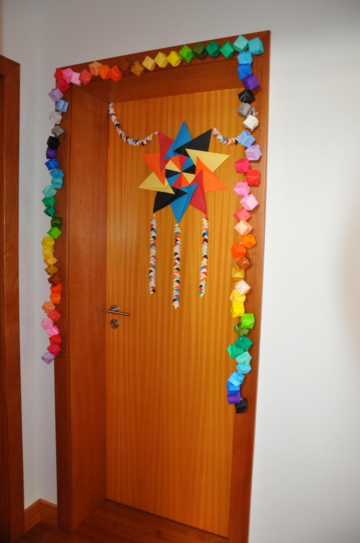 Origami Door by AkaneK ... & Origami Door by AkaneK on DeviantArt