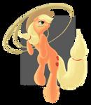 Applejack with her Lasso