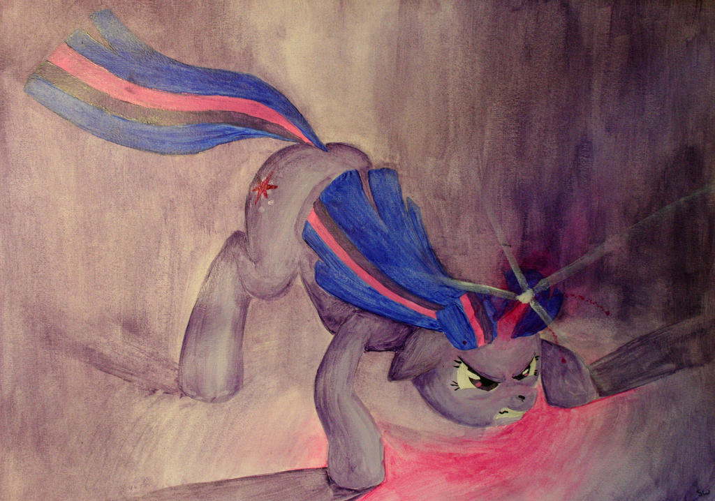 Twilight's spell by FiddleArts