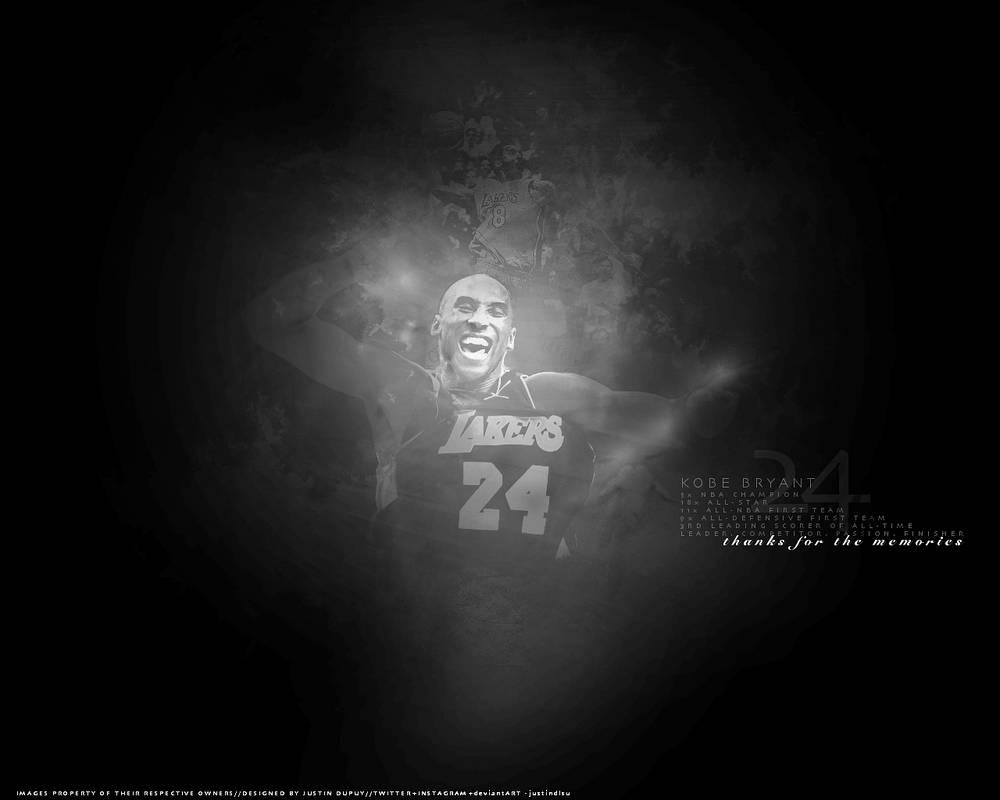 size 40 6af15 5c979 Kobe Bryant Desktop Wallpaper - Black White by justindlsu ...