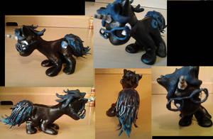 Twill Pony Scuplture by CharredPinappleTart
