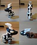 Zebstrika Chibi Sculpture