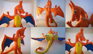 Charizard Sculpture by CharredPinappleTart