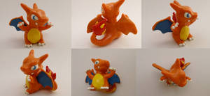 Chibi Charizard Sculpture Verion 3