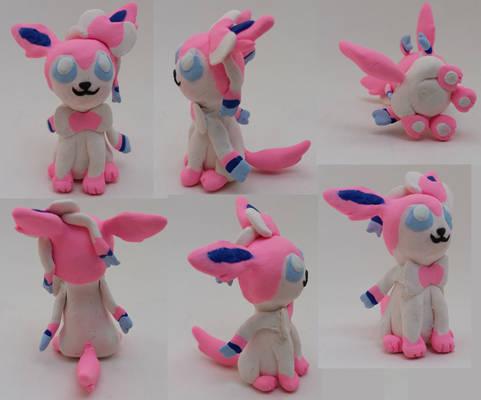 Chibi Sylveon Sculpture - Pokemon Sculpture