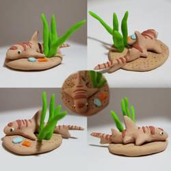 Cute Bamboo Shark Sculpture