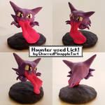 Haunter Used Lick! Haunter Pokemon Sculpture