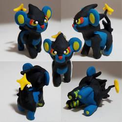 Little Luxray - Pokemon Sculpture