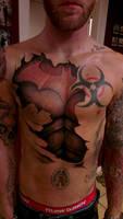 batman armor tattoo
