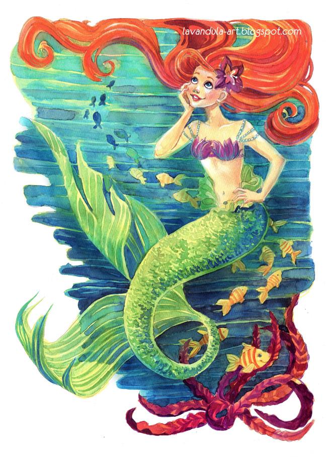 Little Mermaid by Vasylissa