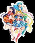 Sailor Moon in a Polish folk way :)