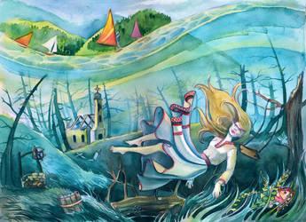 Uderwater story by Vasylissa