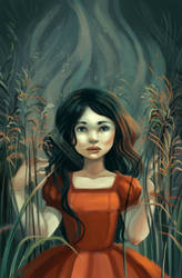 Red in the reed by Vasylissa