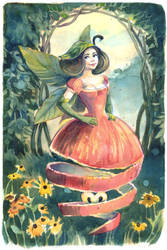 Apple Fairy by Vasylissa