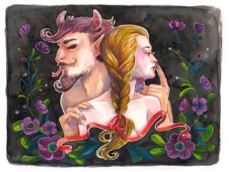 Demon and Maid by Vasylissa