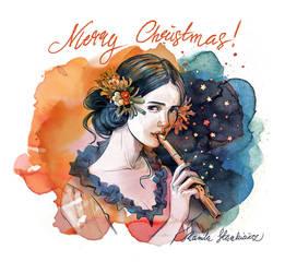Merry Christmas 2017 by Vasylissa