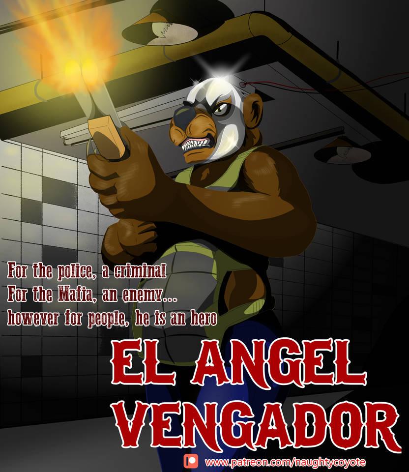 EL ANGEL VENGADOR PORTRAID V.2