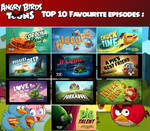 Top 10 Angry Birds Toons!