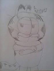 Lil' Garfield sketch by Garfieldfan22