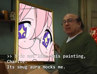 its smug aura mocks me by Garfieldfan22
