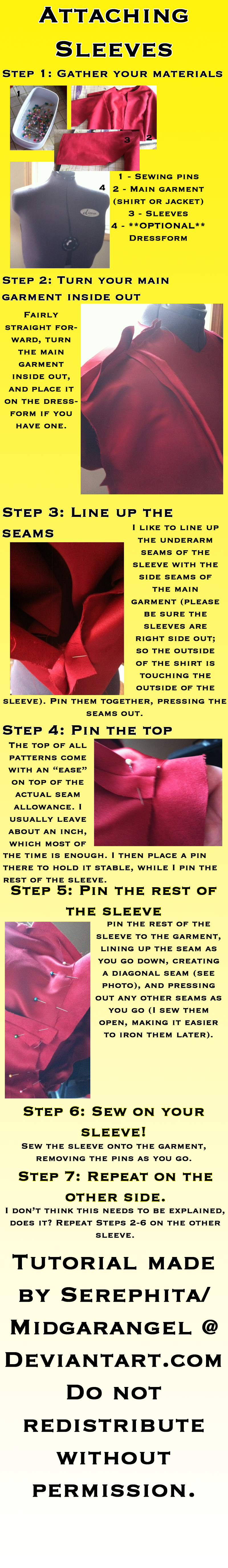 Attaching Sleeves Tutorial