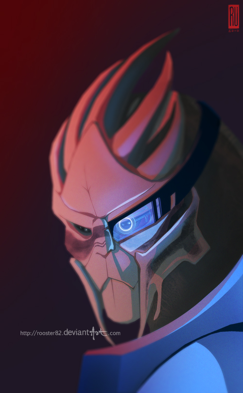 Garrus by rooster82
