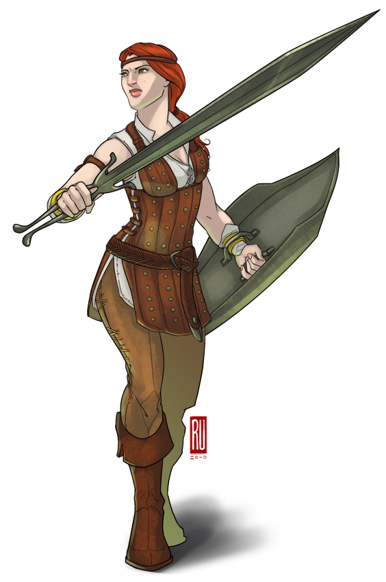 DA2: Aveline by rooster82