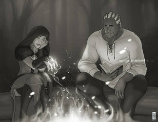 Commish: By the fire by rooster82