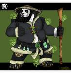 World of Warcraft - Chen Stormstout by GoldenShekel
