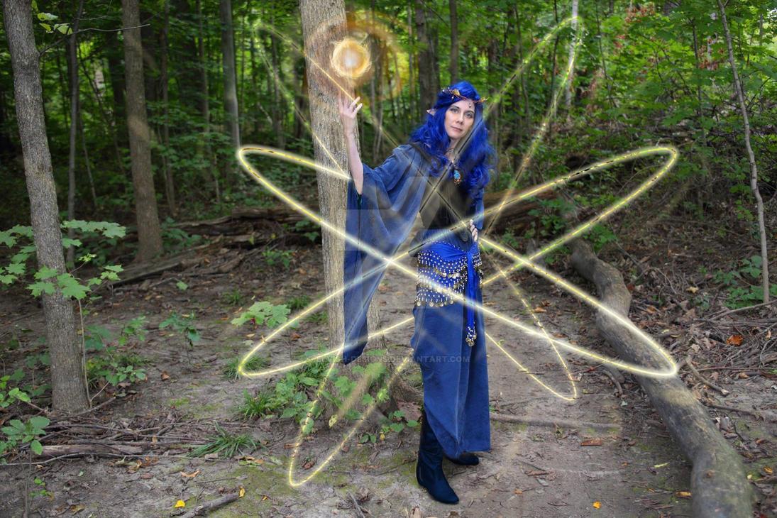 Fireball and Magesheild by Elvish-Designs