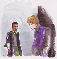 zabini meets quirellmort by dinosaurusgede