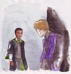 zabini meets quirellmort