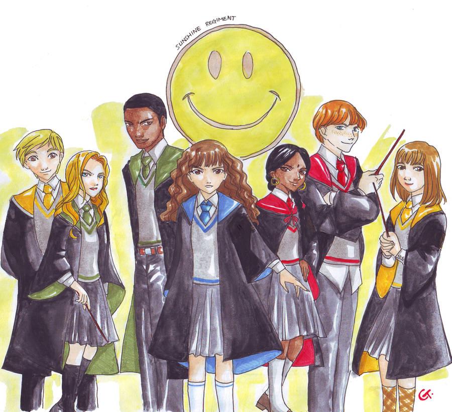 Hermione Sunshine Regiment by dinosaurusgede
