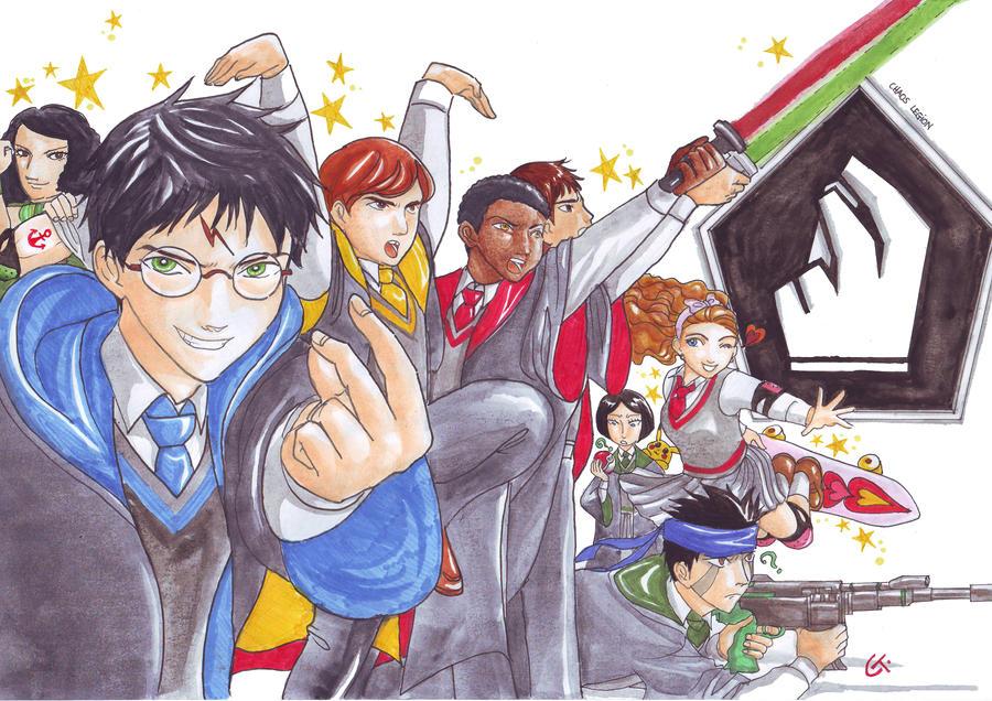 Potter's Chaos Legion by dinosaurusgede