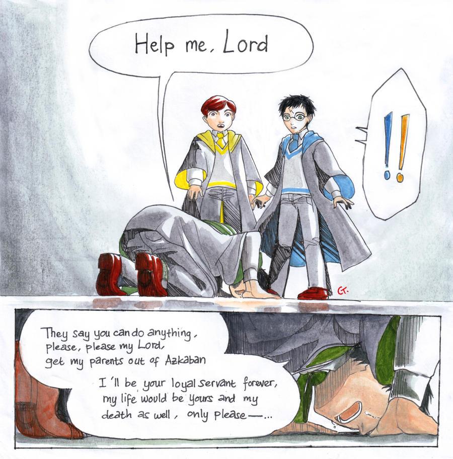 help me, Lord Harry by dinosaurusgede