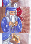 Dumbledore's crumpled scrap