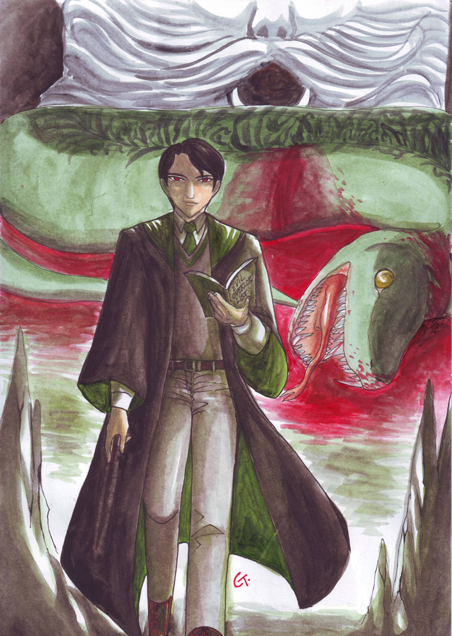 Riddle Killed His Own Basilisk by dinosaurusgede
