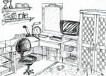 Luthfi's room by dinosaurusgede