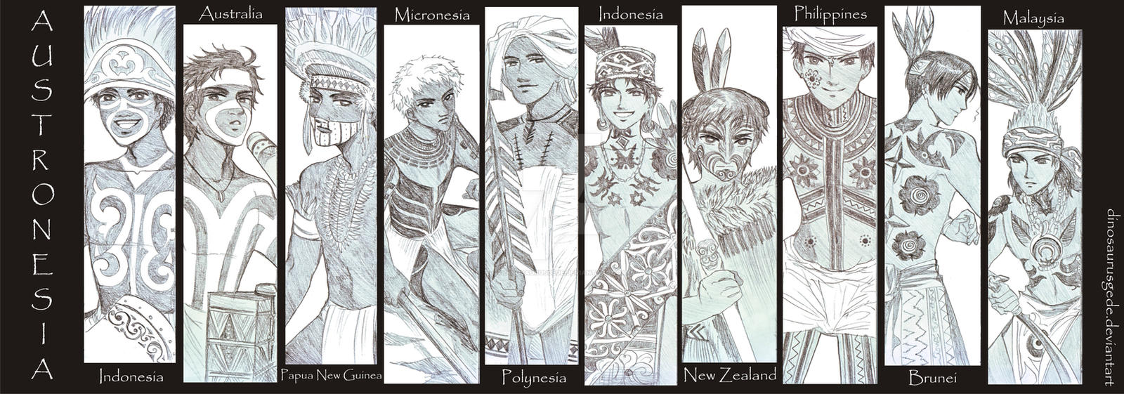 Austronesia Hetalia Ocs Tattoo By Dinosaurusgede On