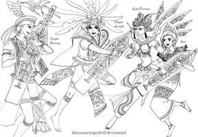 Sampek and Kutai Princess
