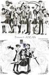 Persona 3 - ASEAN by dinosaurusgede