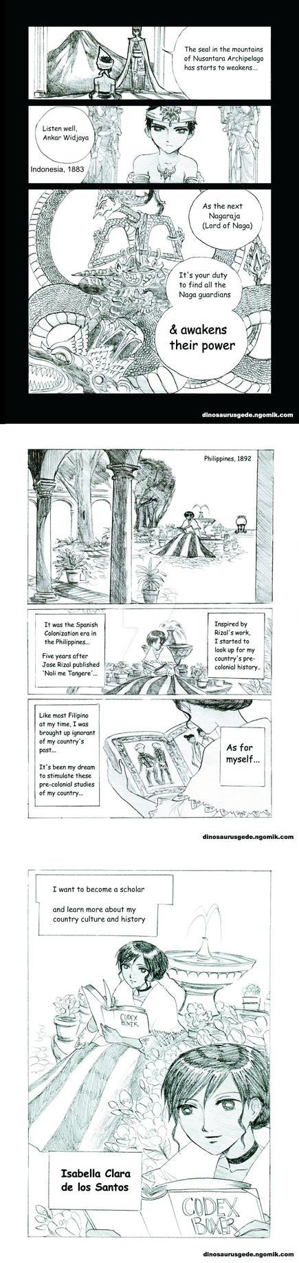 Nagaraja Chapter 1 Part 2 by dinosaurusgede