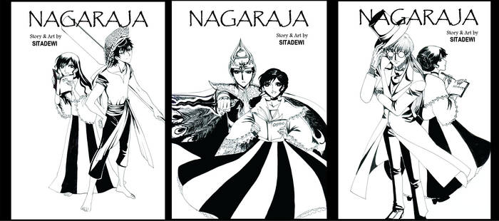 Nagaraja Cover Lineart