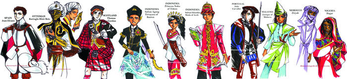 Maaf - The Spice Trail - Characters Part 1