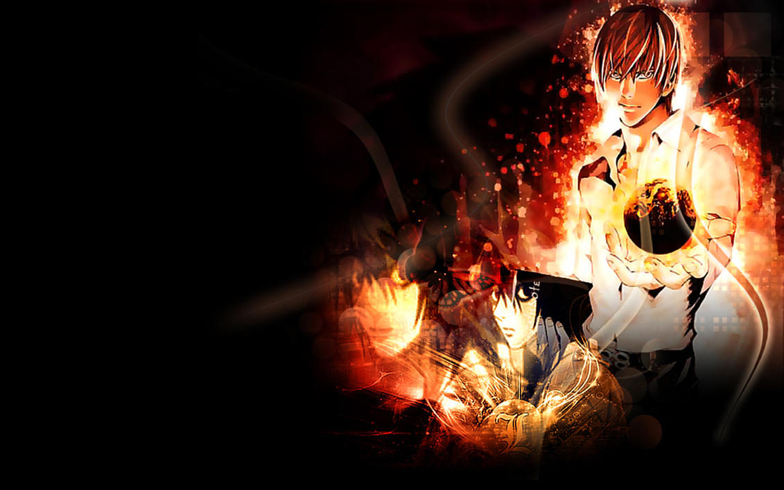 death note wallpaper by morfuska on deviantart