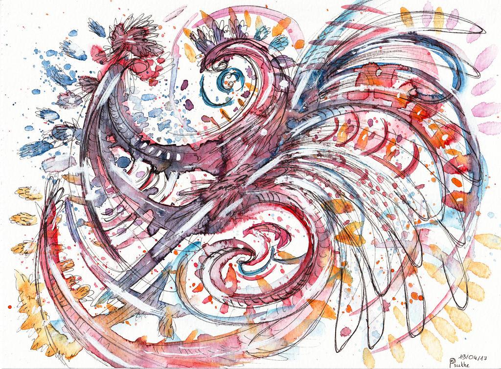 The rooster by Darksoulyshiroyuki