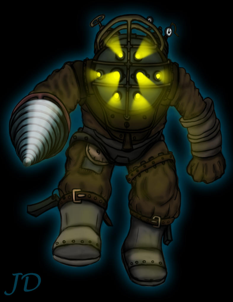 Big daddy in Remnant by Zianus on DeviantArt