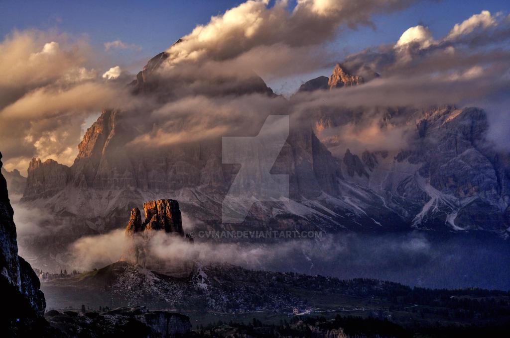 The Dolomites by CVman