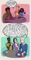 harry potter - draco vs muggle tv by simrell